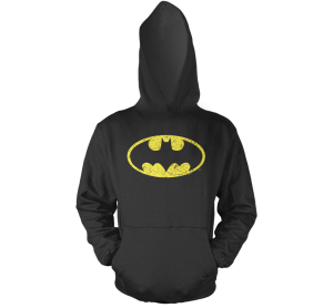 Batman Distressed Symbol Hoodie